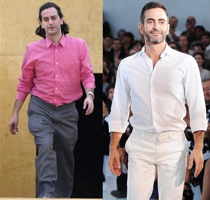 Marc Jacobs: nos anos 90 e em 2012, no auge de deus 49 anos