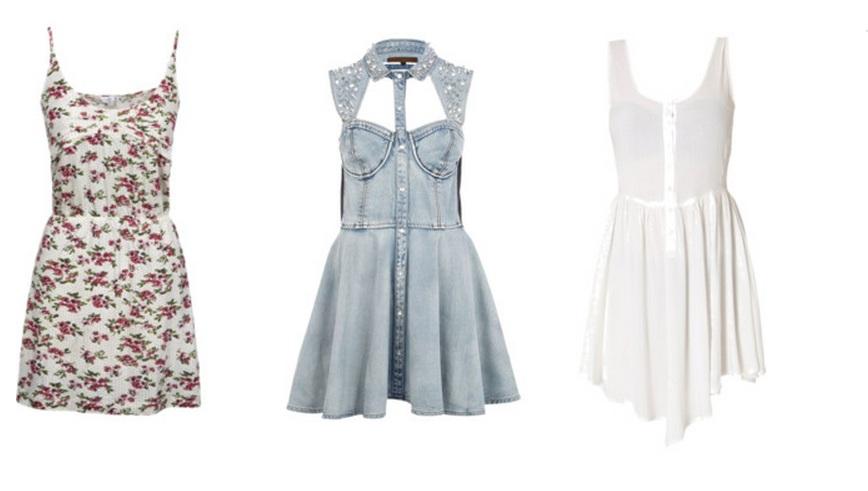 Vestidos soltinhos e leves