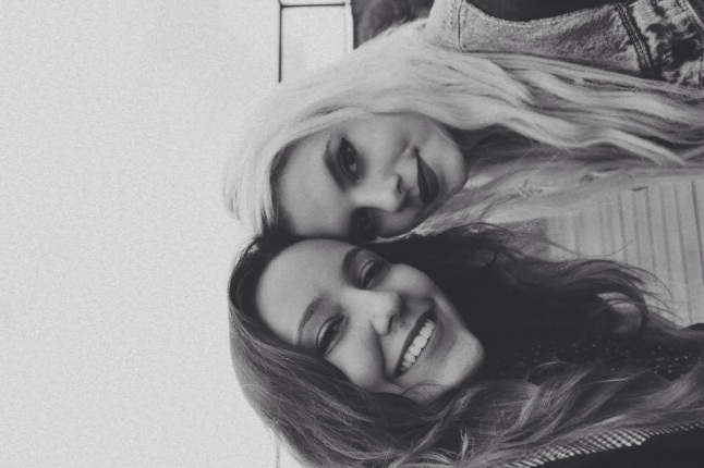 Eu e a minha amiga Raffa linda haha