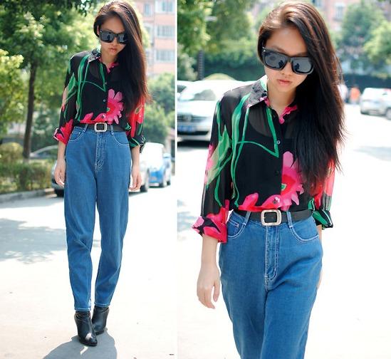 high waisted jeans_4