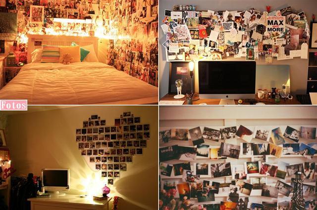 psychoblondies - fotos-decoração-quartos-polaroid